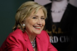 "Hillary Rodham Clinton Signs Copies Of Her Memoir ""Hard Choices"""